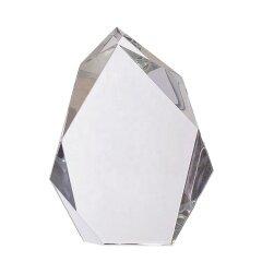 Top Grade K9 Crystal Glass Trophy 3D Laser Engraved Handmade Crystal Islamic Logo Craft Religious Trophy Souvenir