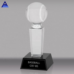 2020 Wholesale Beautiful 3D Laser Custom Crystal Glass Sport Trophy For Gift
