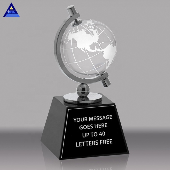 Wholesale Custom Personalized Crystal Gift Globe For Mom Award Souvenirs Gifts Favors