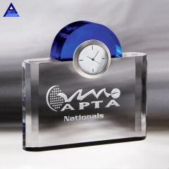 High Quality Night And Day Clock Trophy For Business Gift