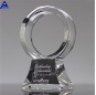 Hot Selling Cheap Blank Glass Shield Award With Base