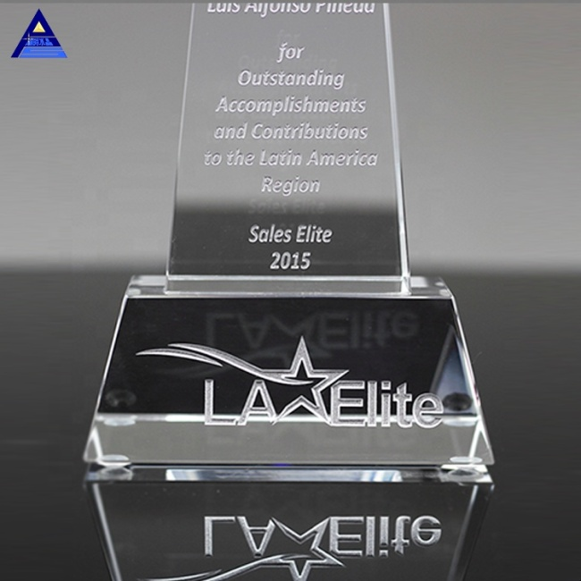 Wholesale Top Star Crystal Trophy And Award With Personalized Name Engraving