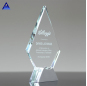 Custom Crystal Blank Mountain Trophies Awards With Logo Engraved