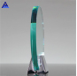 Latest Italian Trophy Design Alumina Jade Crystal Circle Award