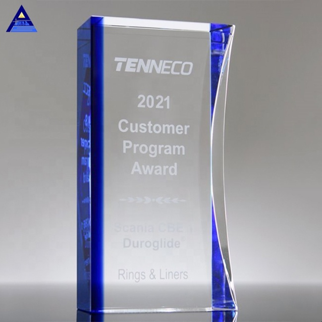 Wholesale Customized Neo Crystal Awards Trophy,3D Laser Engraved Crystal Cube