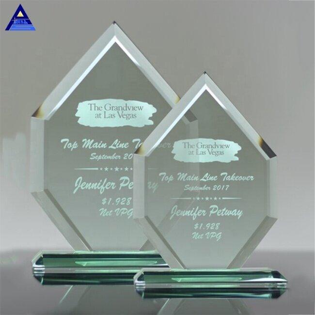 Wholesale Cheap Price Custom Design Blank Plaque Jade Awards