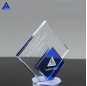 New Design Diamond Duet Crystal Mountain Award For Holiday Decoration