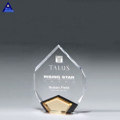 High Quality Wholesale Gold Marquis Diamond Award Trophy