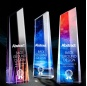 2021 New Design Cheap Star Crystal Glass Trophy For Souvenir Crystal Plaque Gift