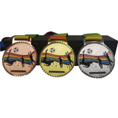 Custom Marathon Running Event Trophy Sports Martial Arts Souvenir Competition Badge Metal Medal