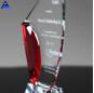 Custom Sublimation 3D Clear Glass Crystal Blank Awards With Logo