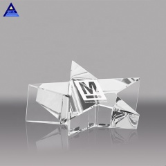 2020 New Arrival Pentagram Magnifying Glass Paperweight