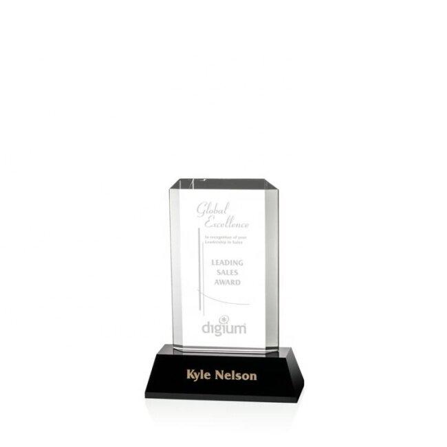 Hot Sale Prompt Delivery Safety Item K9 Crystal Plaque Trophy Award Plaque For Souvenir Gift