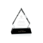 New Clear Custom Business Wedding Gift  Diamond-edge Crystal Award Trophy
