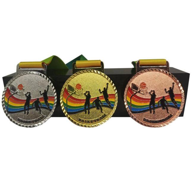 Custom Marathon Running Event Trophy Sports Martial Arts Souvenir Competition Badge Metal Medal
