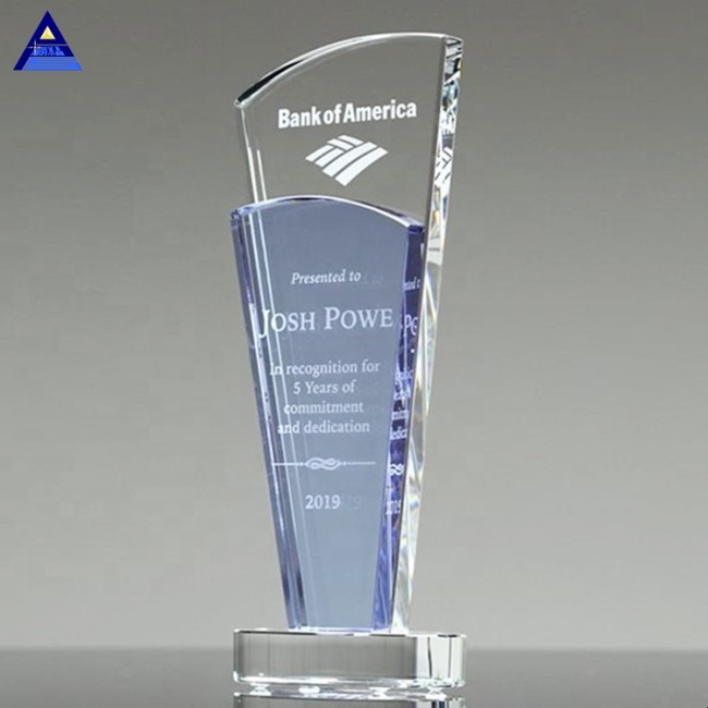 School Souvenir Crystal Sobe Award Trophy Crystal Award Plaque Souvenir