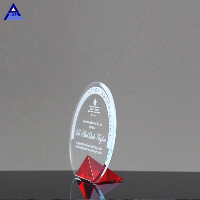 Factory Wholesale Customized Shield Crystal Cyrk Cheap Custom Award Trophy