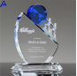 Wholesale Price Blank Sublimation 3D Crystal Award Trophy For Souvenir Gifts