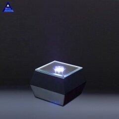 Obelisk Shape Blank Customized Accolade Diamond Crystal Trophy For Prize Presentation