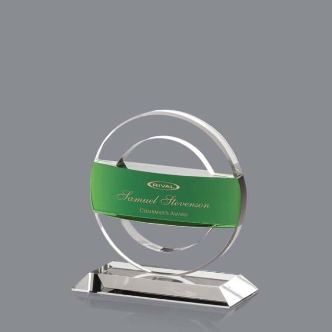 China Wholesale Websites New Custom Wedding Gift Circle Business Awards Muslim Crystal Plaque