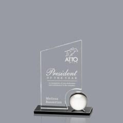 High quality crystal award trophy transparent trophy achievement awards crystal trophy awards