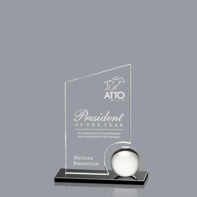 High quality crystal award trophy transparent trophy achievement awards crystal trophy awards