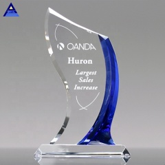 China Custom High Quality New Creative Design Crystal Potomac Award Trophy