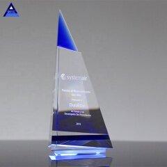 Tourist Souvenir Small Religious Cheap Indigo Peak Award Trophy Crystal Gifts