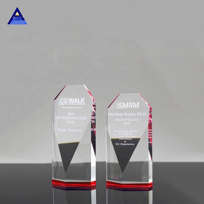 Wholesale Custom Clear 3D Obelisk Laser Crystal Gift For Craft