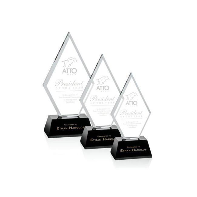 2020 Pujiang Wholesale Cheap Fashionable Custom Transparent Diamond Crystal Award