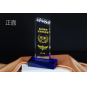 2021 New Design Crystal Award Plaque Customized Engraving Small Diamond Crystal Trophy