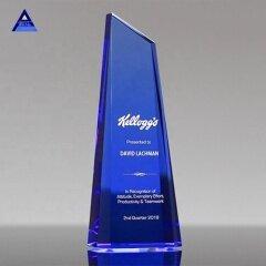 2019 New Design Obelisk Crystal Trophy Souvenir Gifts For Custom Engraving