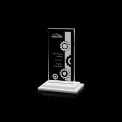 Prompt Delivery Safety Item K9 Creative Souvenir Book Shape Crystal Trophy Award