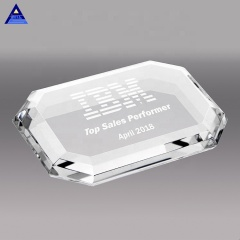 2020 New Arrival Religious Glass Cross Paperweight