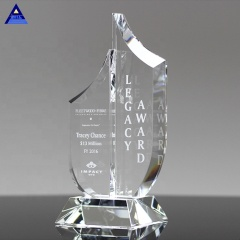 Wholesale High Quality Natural Paragon Crystal Trophy For Decoration