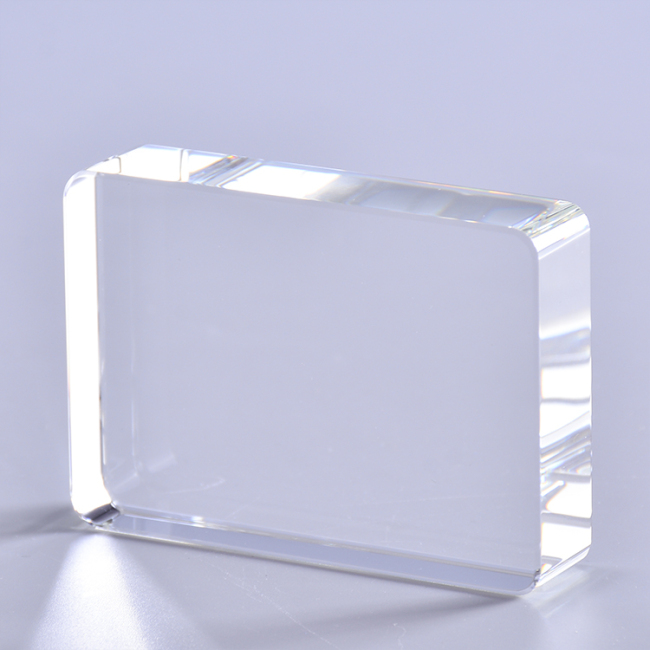Cheap Hot Selling Personalized Blank Rectangle Crystal Paperweight With 3D Laser For Business Favor,Gift,Craft,Souvenirs