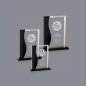 Customize Cheap Blank Crystal Glass Awards Shield, Award Certificate Plaques