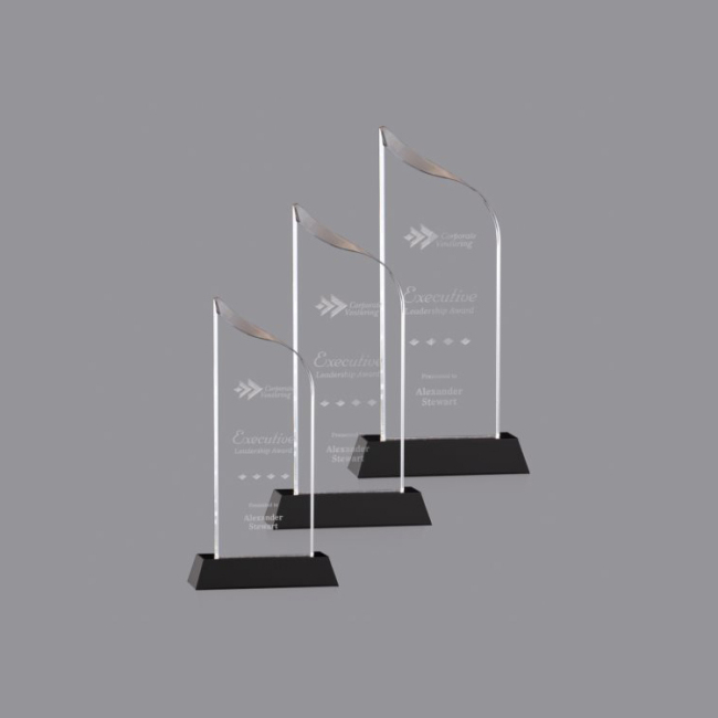 Promotional Wholesale Hot Sale 3D Laser Engraved Crystal Award Plaque And Trophy Supplies
