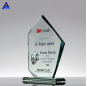 2019 New Products Jade Glass Flame Award Trophy Crystal Souvenir For Gifts