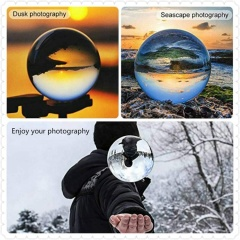 Size 80mm photography K9 crystal ball