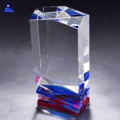 Beauty Engraving Mastery 3D Laser Crystal 3D Glass Photo Cube For Gift
