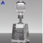 Latest Promotion Price Success Light Bulb Shape Crystal Award Trophy For Souvenir
