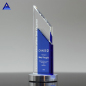 Wholesale High Quality Engraving K9 Crystal Glass Trophy With Custom Made Logo