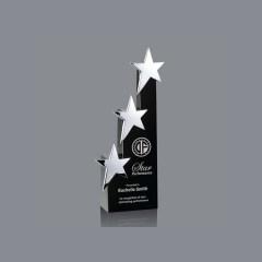 Hot Sale Wholesale Medal Crystal Star Shaped Award Custom Clear Diamond Crystal Trophy Award