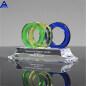Custom Size Diamond Crystal Award Trophy,Color Glass Award Trophy