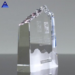 Factory Wholesale Optic Mountain K9 Crystal Award Trophy Manufacturer