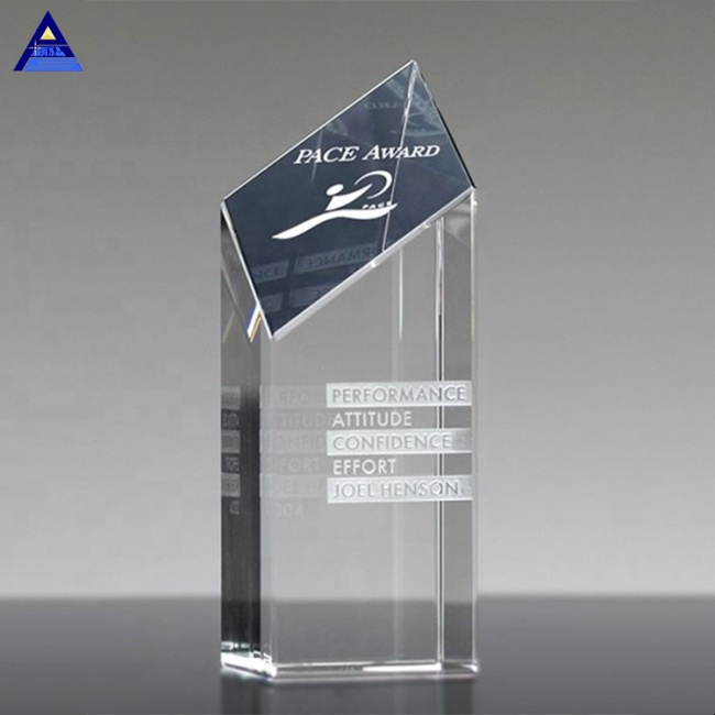 Unique Souvenir Gifts Encore Engraved Crystal Awards With Logo