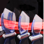 Wholesale Crystal Trophy, Crystal Glass Award, Blank Glass Crystal Awards Plaque For Souvenir Gifts