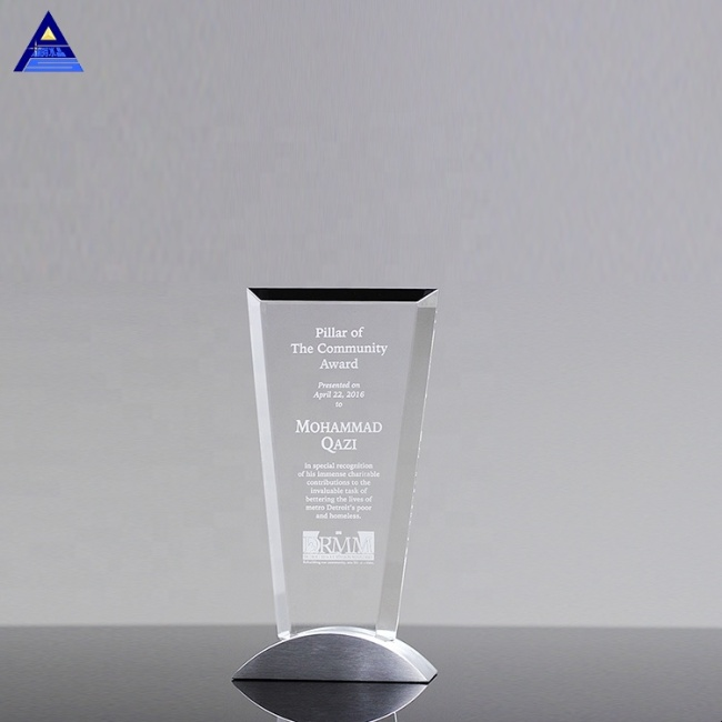 K9 Clear Vision Recognition Crystal Award Trophy For Business Collection