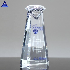 Faceted Decorative Large Essence Clear Crystal Glass Diamond Crystal